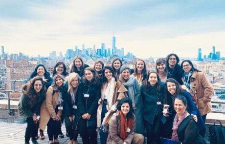 בוגרות 8200 יצאו לניו יורק – נפגשו עם בכירות בענקיות האינטרנט
