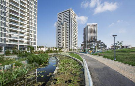 רמת גן במקום השביעי בארץ בהתחלות בניה 2020