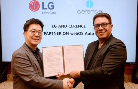 חברת LG מאחדת כוחות עם חברת CERENCE