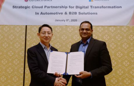LG ומיקרוסופט מקדמות יחד חדשנות בשוק ה-B2B