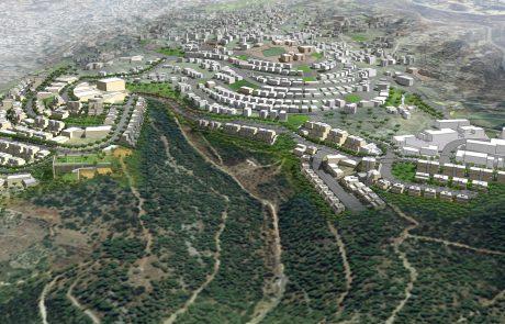 אושרה הסדרה ובניה של למעלה מ-1122 יחידות דיור באום אל פחם